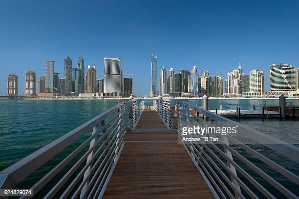 Dubai Creek and Dubai Skyline