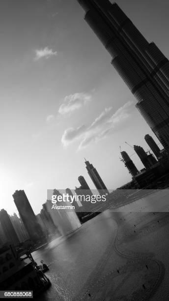 Dubai fountain - Dubai - United Arab Emirates
