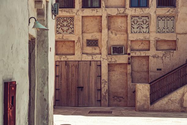 Dubai historic traditional buildings