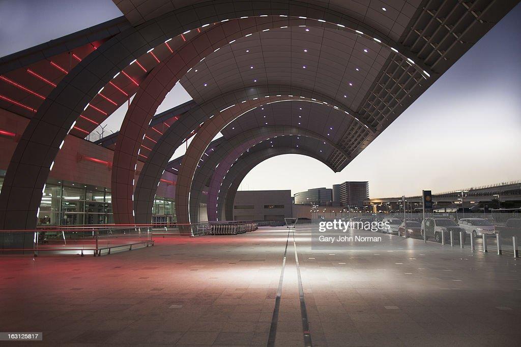 Dubai International Airport, UAE. : Stock Photo