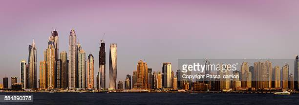 Dubai JBR from the sea