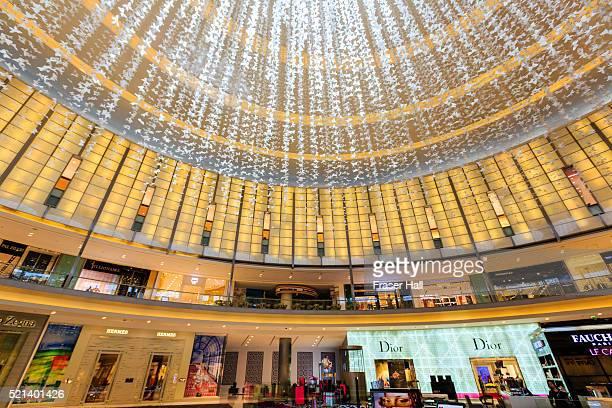 dubai mall, dubai - international landmark stock pictures, royalty-free photos & images