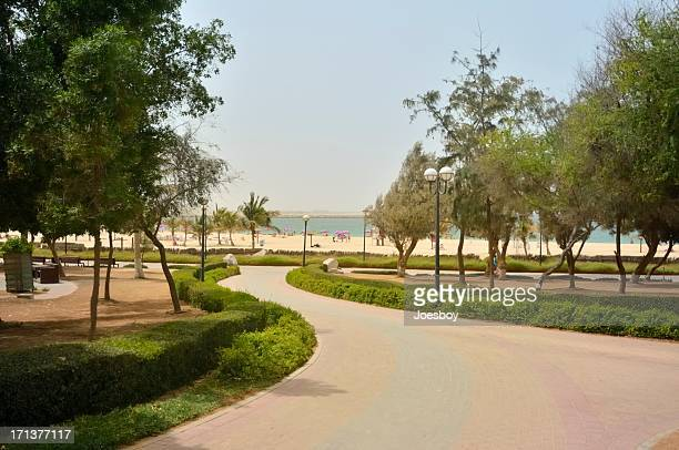 Dubai Mamzar Park Beach One