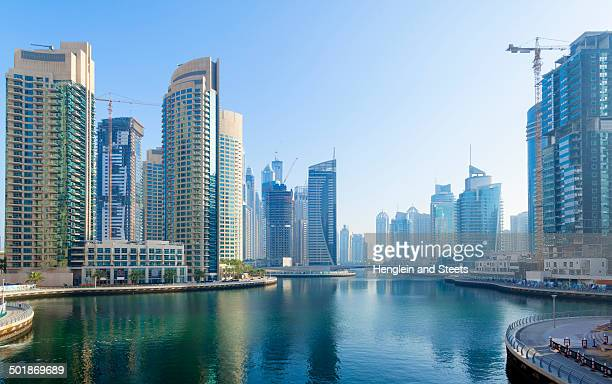 Dubai Marina at daytime, United Arab Emirates