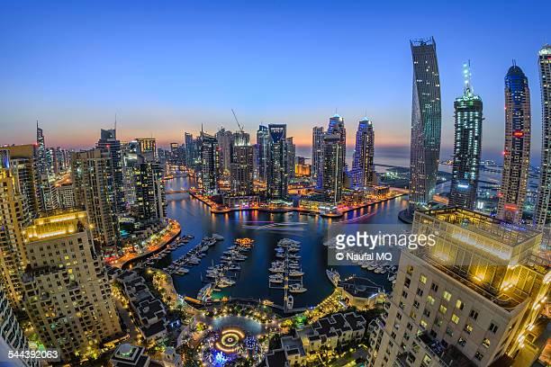 Dubai Marina at Dusk