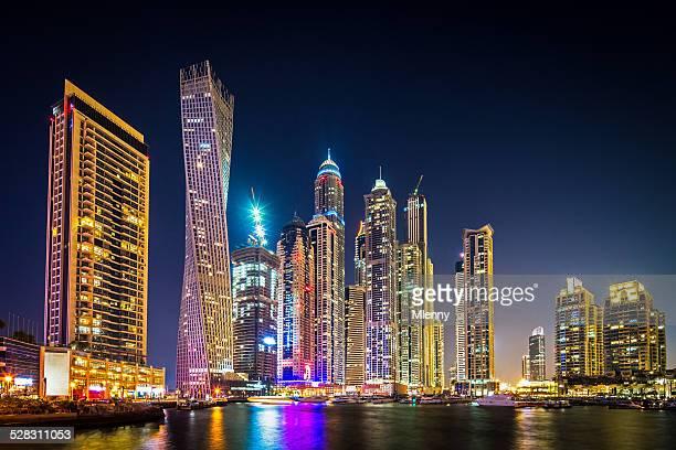 Dubai Marina at Night UAE