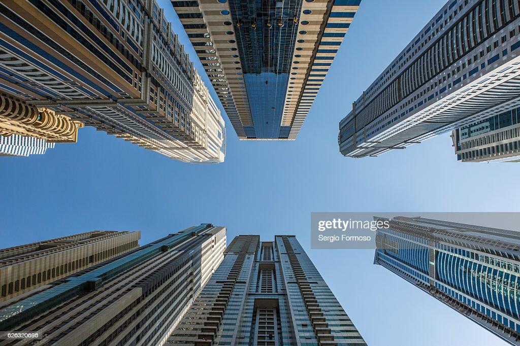Dubai Marina, Dubai, UAE : Stock Photo