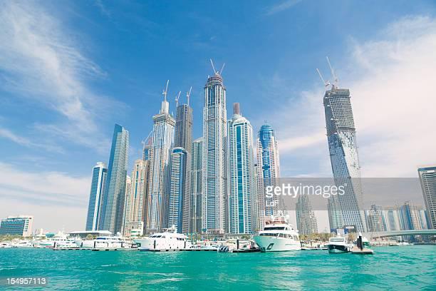 Dubai Marina From the sea