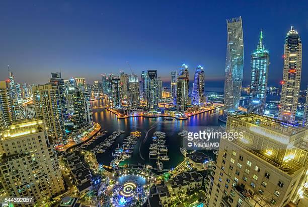 Dubai Marina in night