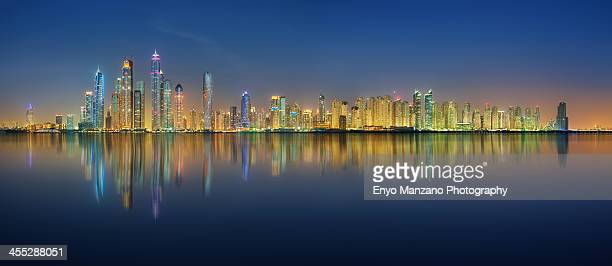 Dubai Marina & JBR Skyline