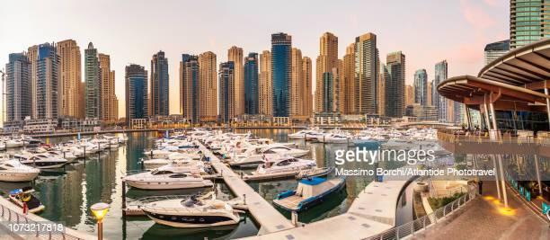 dubai marina - image stock pictures, royalty-free photos & images