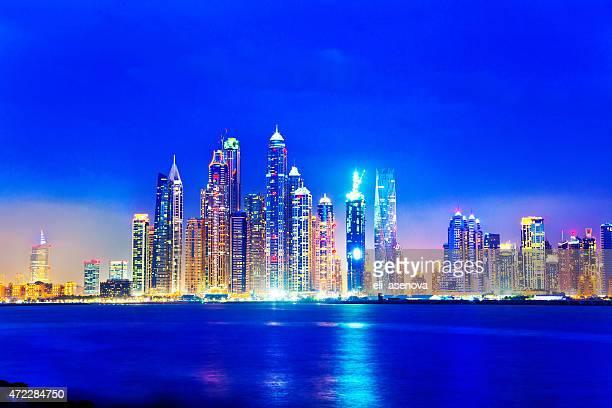 Dubai Marina Skyline from Palm Jumeriah