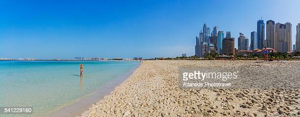 Dubai Marina, the open beach near Jumeirah Beach Residence