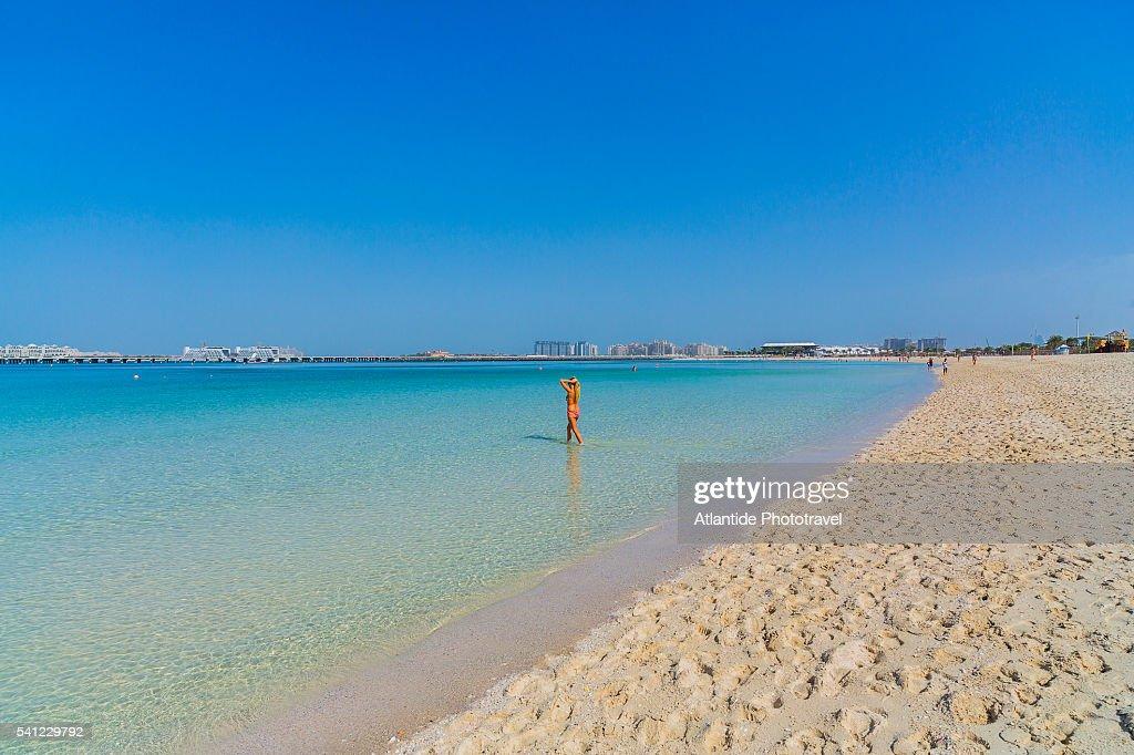 Dubai Marina The Open Beach Near Jumeirah Beach Residence ...