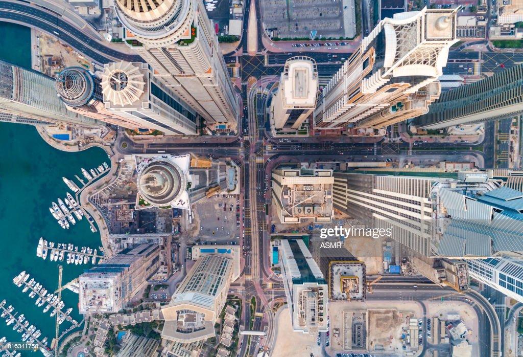 Städtischen Skyline von Dubai Marina : Stock-Foto