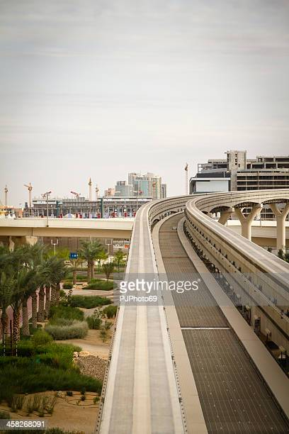 Dubai Monorail in Palm Jumeirah