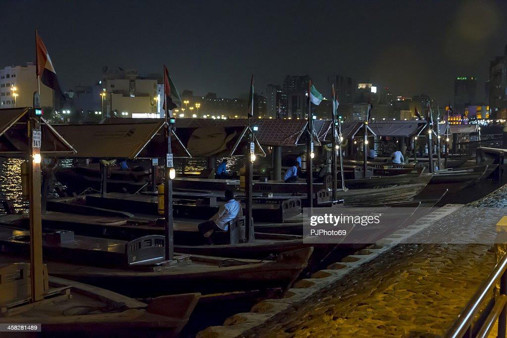 Dubai Old Souq transporte marítimo de : Foto de stock