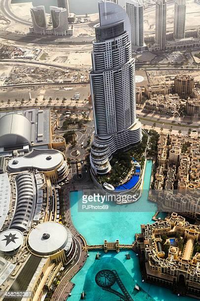Dubai - panoramic view from Burj Khalifa