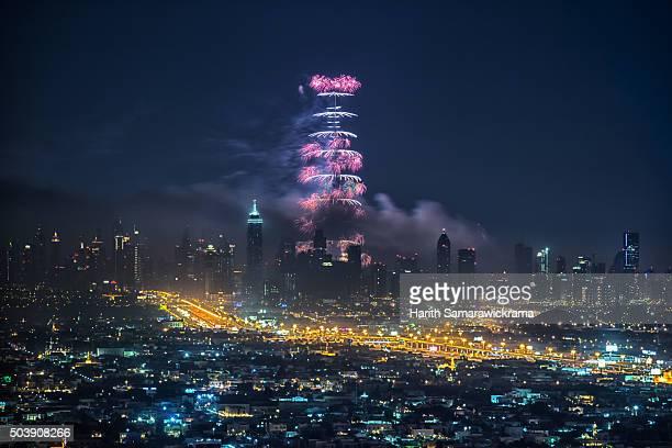 dubai - burj khalifa stock photos and pictures