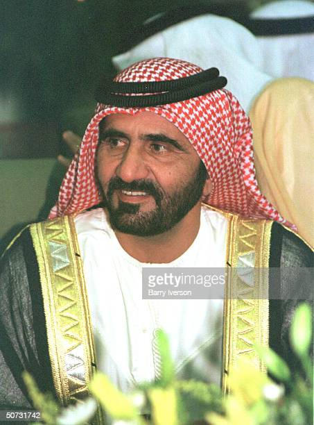 Dubai Sheik Mohammed bin Rashid al Maktoum during Arab League summit held Oct 2122