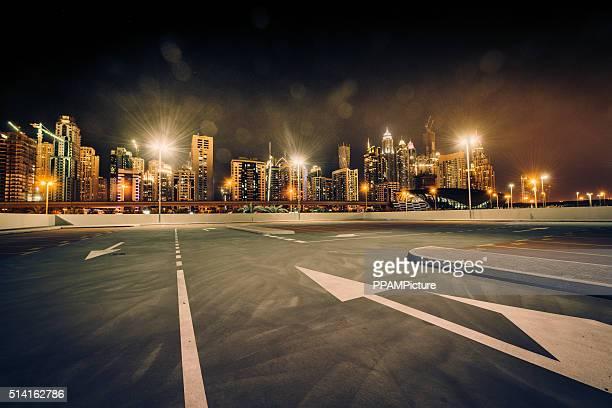 Dubai Skyline nightshot