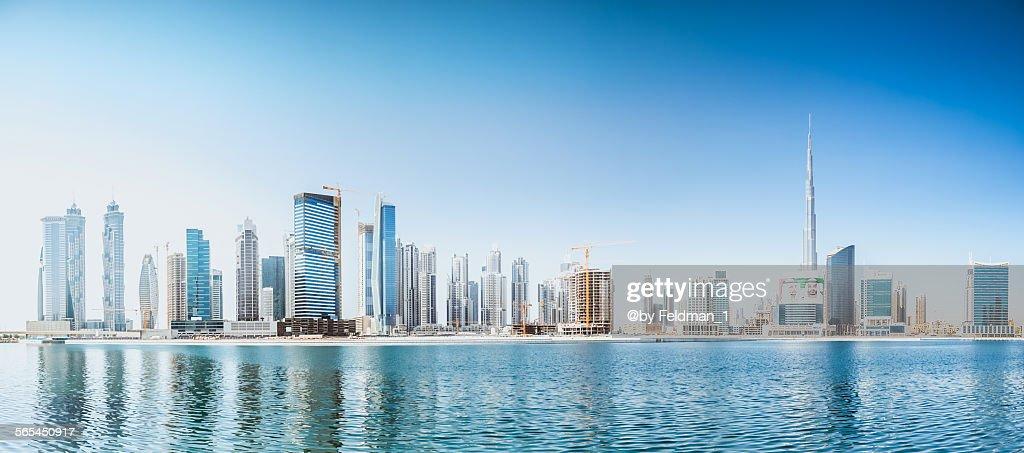 Dubai skyline : Stock Photo