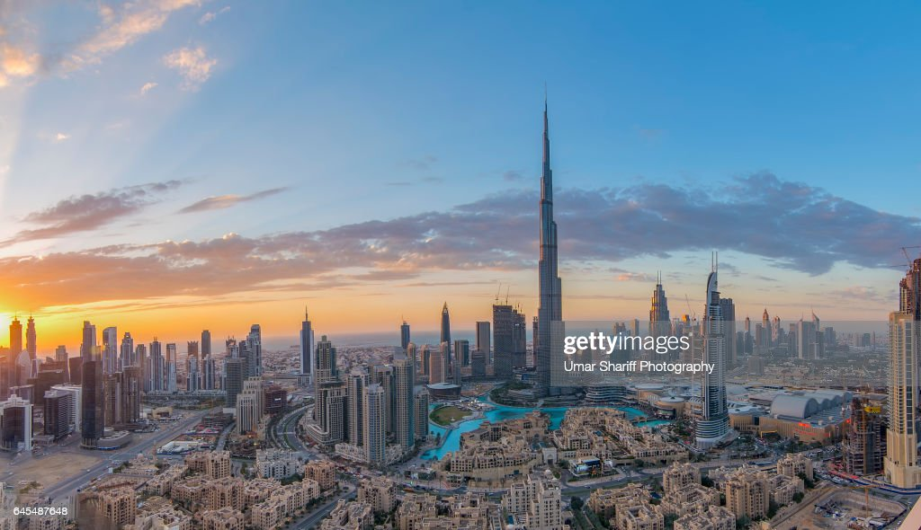 Dubai Skyline Stock Photo | Getty Images