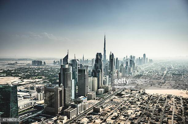 dubai skyline with downtown