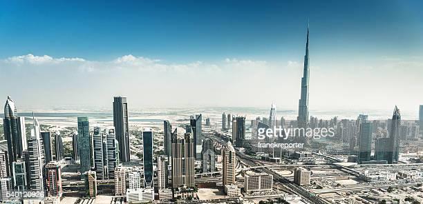 dubai skyline mit der Innenstadt