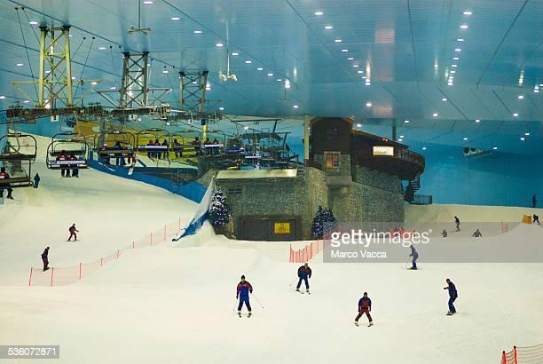 Dubai UAE Ski Dubai the ski slope inside the Mall of Emirates