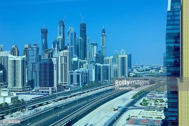 Dubai, Emiratos Árabes Unidos-Marina Towers