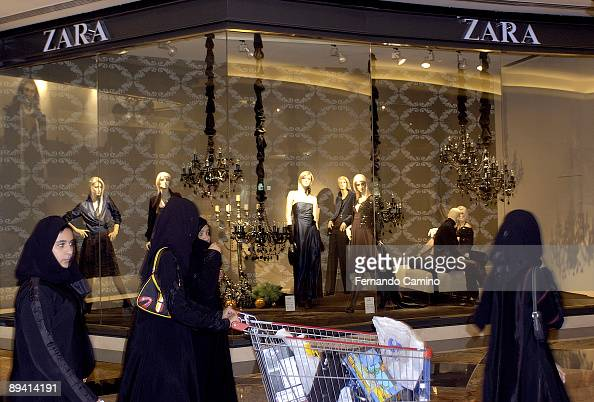 Dubai, United Arab Emirates. Zara clothes shop. News Photo ...