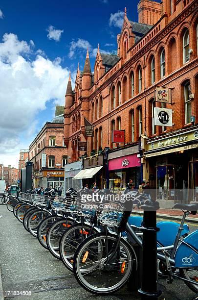 Dublin bike rental station