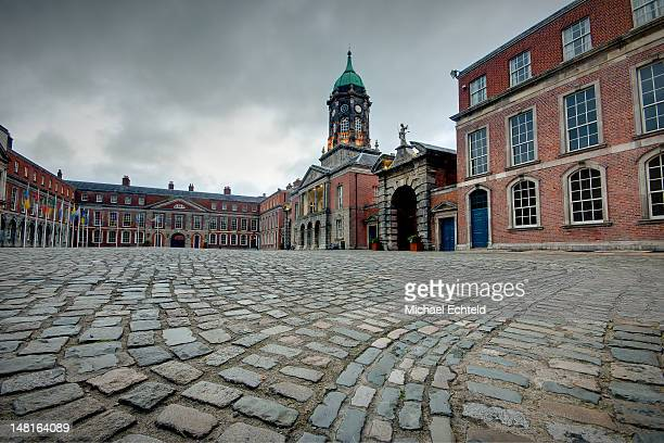 dublin castle - dublin castle dublin stock pictures, royalty-free photos & images
