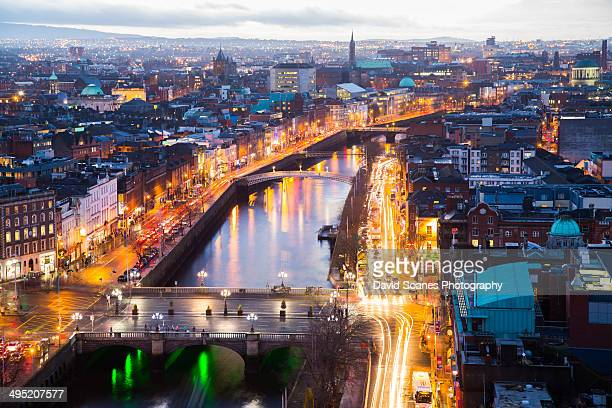 dublin city - dublin stock pictures, royalty-free photos & images