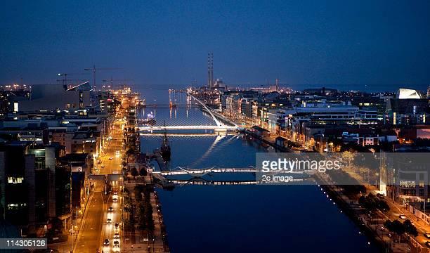 Dublin Docklands, Ireland.