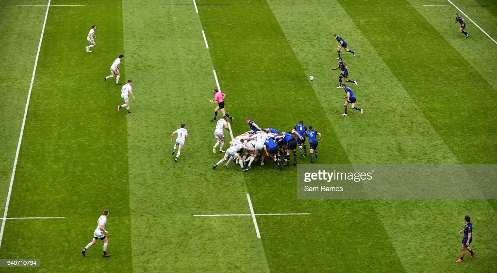 Leinster v Saracens - European Rugby Champions Cup quarter-final : News Photo