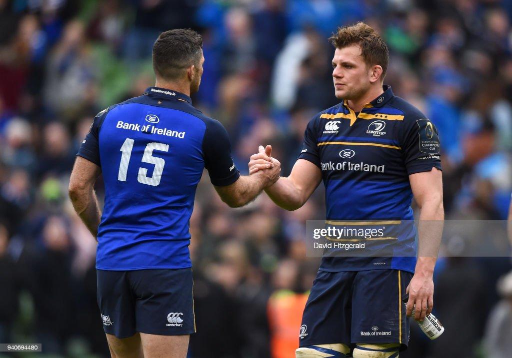 Leinster Rugby v Saracens -  Champions Cup: Quarter-Final