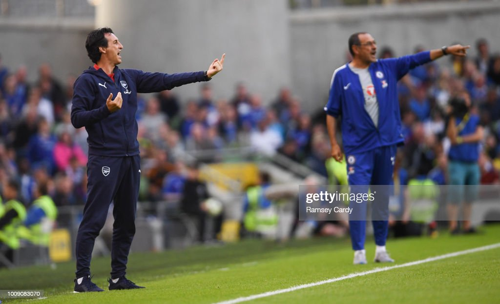 Arsenal v Chelsea - International Champions Cup 2018 : ニュース写真