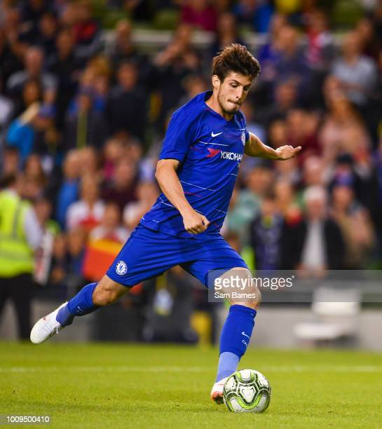 Dublin Ireland 1 August 2018 Lucas Piazon of Chelsea during the International Champions Cup match between Arsenal and Chelsea at the Aviva Stadium in...