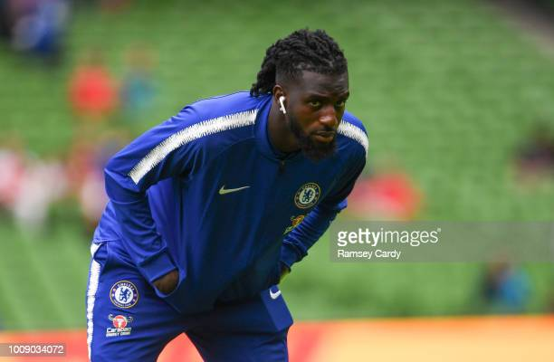 Dublin , Ireland - 1 August 2018; Tiémoué Bakayoko of Chelsea ahead of the International Champions Cup match between Arsenal and Chelsea at the Aviva...