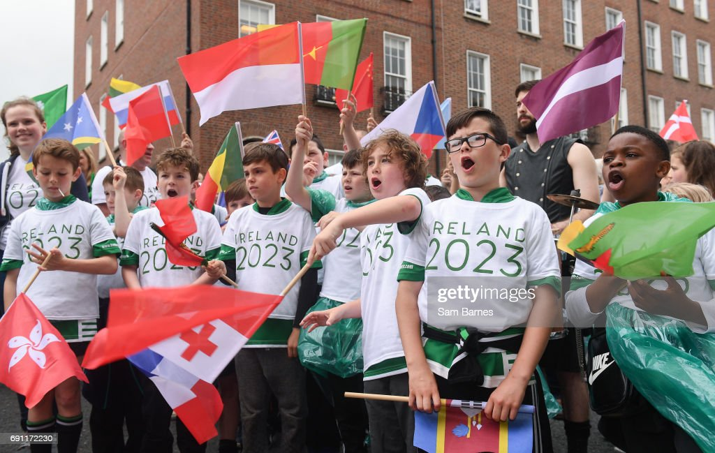 IRFU Rugby World Cup 2023 Bid Submission : News Photo