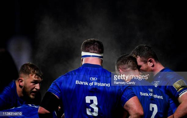 Dublin Ireland 1 March 2019 Michael Bent of Leinster during the Guinness PRO14 Round 17 match between Leinster and Toyota Cheetahs at the RDS Arena...