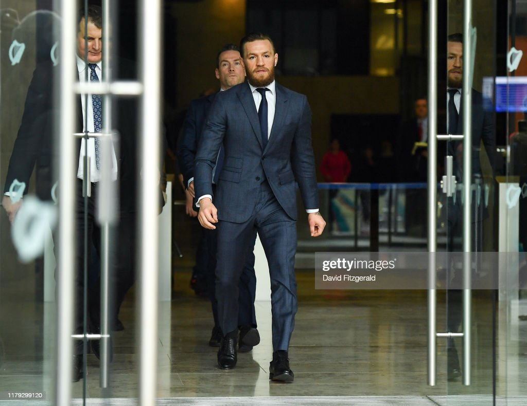 Conor McGregor Court Appearance : News Photo
