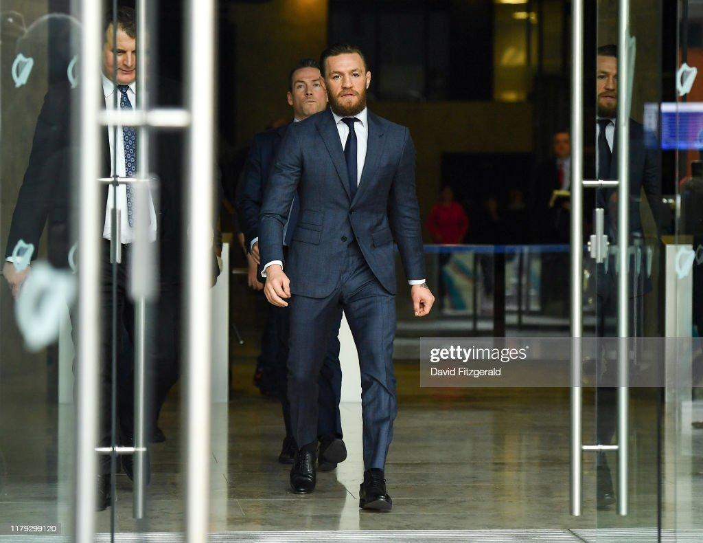Conor McGregor Court Appearance : Fotografia de notícias