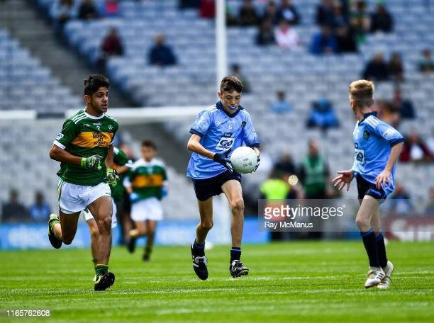 Dublin Ireland 1 September 2019 Fionn Kavanagh Castletown NS Gorey Wexford representing Dublin and Kevin Fakova Loch Gowna NS Gowna Cavan...