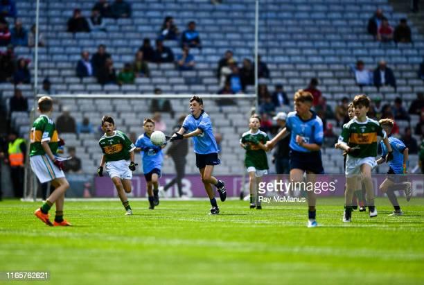 Dublin Ireland 1 September 2019 Fionn Kavanagh Castletown NS Gorey Wexford representing Dublin during the INTO Cumann na mBunscol GAA Respect...