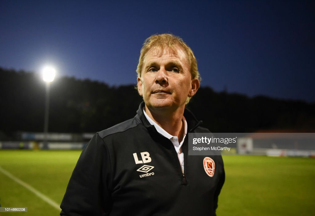 Dublin , Ireland - 10 August 2018; St Patrick's Athletic manager Liam Buckley following the Irish Daily Mail FAI Cup First Round match between Inchicore Athletic and St Patrick's Athletic at Richmond Park in Inchicore, Dublin.