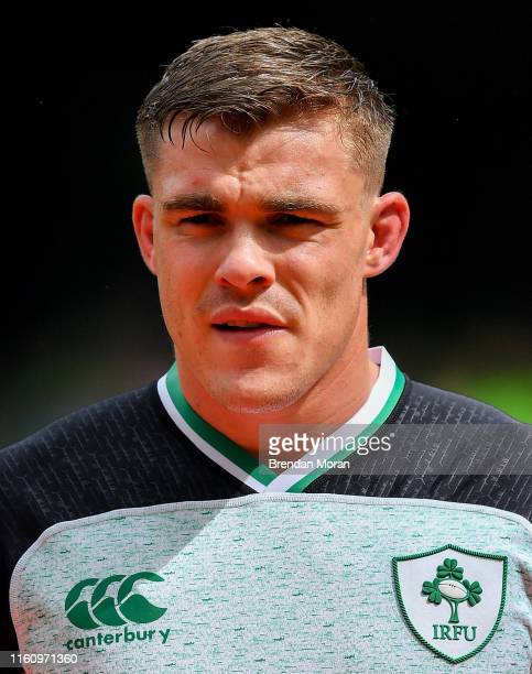 Dublin , Ireland - 10 August 2019; Garry Ringrose of Ireland prior to the Guinness Summer Series 2019 match between Ireland and Italy at the Aviva...