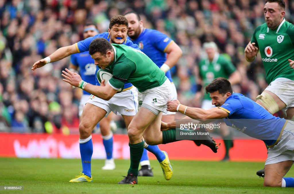 Ireland v Italy - Six Nations Rugby Championship : News Photo